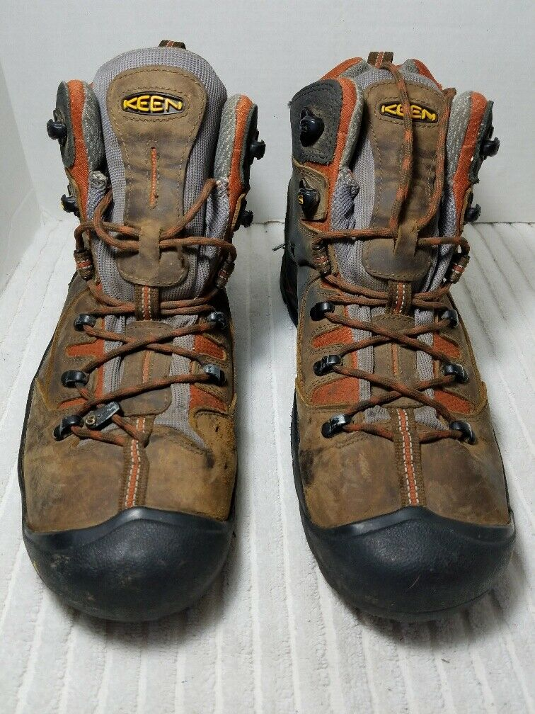 KEEN 1009709 Men's Pittsburgh Waterproof Work  Hiking Boot Brown Size 11.5 EE  brand outlet