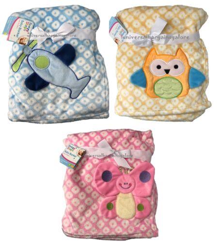 Newborn Baby Soft 3D Blanket Pram Crib Moses Basket Boy Girl Unisex 0 Month