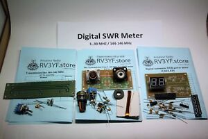 Digital-SWR-meter-with-2-bit-LED-Directional-Couplers-1-30-MHZ-amp-144-146-MHz