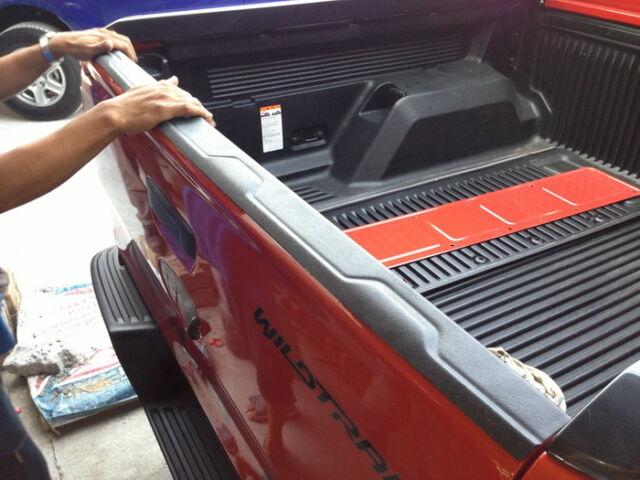 MATT BLACK REAR TAILGATE COVER FORD RANGER PX T6 XL XLT WILDTRAK 2012-PRESENT 17