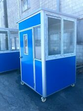 Guard Shack Ticket Toll Security Booth Prefab Portable Office 5x5x75ft Wheels