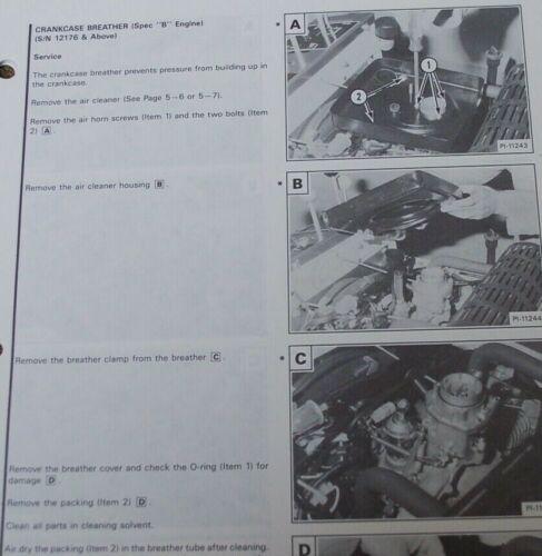 BOBCAT T116 Walk Behind Trencher Service Manual repair shop maintenance book OEM