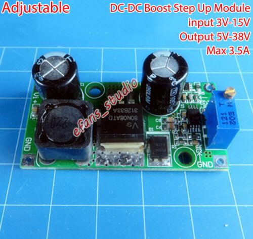 3.5 A DC-DC Boost Step Up Power Module Volt Convertisseur 3V-15V à 5V-36V 9 V 12 V 24 V