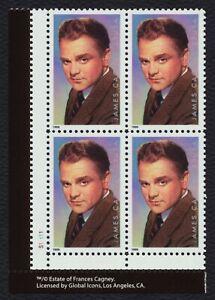 #3329 33c James Cagney, Placa Bloque [S11111 Ll ] Nuevo Cualquier 4=