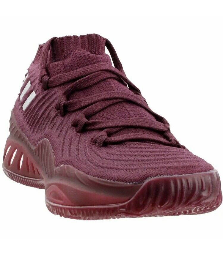 Adidas Crazy Explosive Primeknit Basketball shoes Maroon Burgundy Mens Size 16