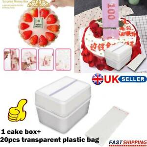 Outstanding Funny Birthday Cake Money Box Tricky Toy With 20 Bags Surprise Personalised Birthday Cards Bromeletsinfo