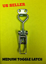 4 Pcs Steel Draw Medium Toggle Latch Catch For Case Box Chest Safety Hardware