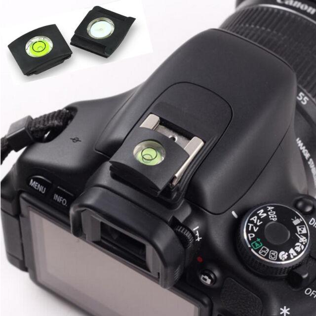 2PCS Level Accessory Hot Shoe Cover DSLR Camera Protector Cap for Canon Nikon