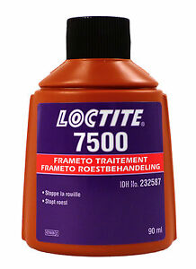 loctite 7500 frameto traitement corrosion 90ml anti rouille haute resistance ebay. Black Bedroom Furniture Sets. Home Design Ideas