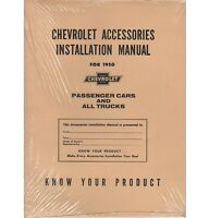 1950 Chevy Truck Accessory Installation Manual