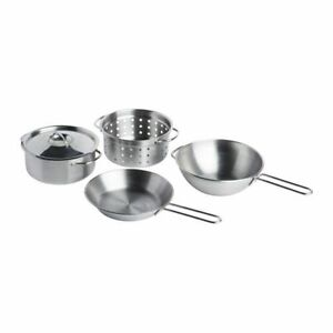 Ikea Duktig Kitchen Items 5 Piece Cookware Stainless Steel From 3
