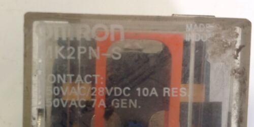 OMRON RELAY LOT OF 2  MK2PN-S