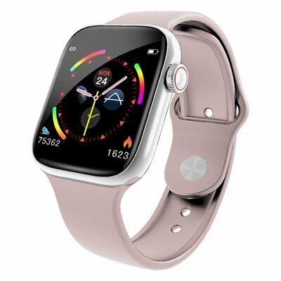 Damen Smartwatch Fitness Armband Wasserdicht IP67 Sport Uhr mit Ersatz Armband