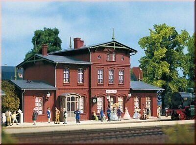 Auhagen 11347 Bahnhof Goyatz in H0 Bausatz Fabrikneu