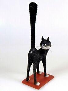LE-TROISIEME-IL-Les-Chats-d-039-Albert-Dubout-Skulptur-Katze-Karikatur-DUB21