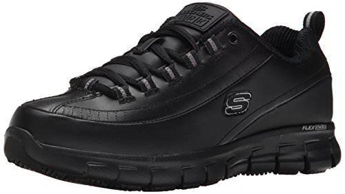 Skechers For Work Donna Sure Track Trickel Slip Resistant Shoe
