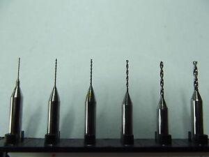 50-Stueck-Hartmetall-Bohrer-0-3-1-5-mm-Dremel-Proxxon-CNC