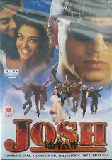 JOSH - BOLLYWOOD DVD - Eros Bollywood indian movie dvd -Shahrukh Khan, Aishwariy
