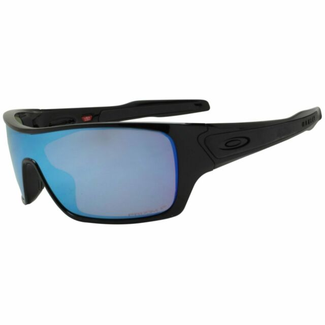 Oakley OO 9307-08 Polarized Turbine Rotor Black Prizm Deep Water H2O Sunglasses