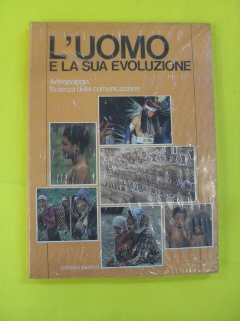 AAVV -TUTTO SAPERE - UOMO E LA SUA EVOLUZIONE  VOL 1 - ED.PAOLINE - 1988