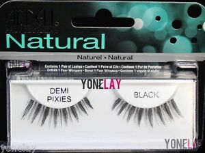 778db519e73 4 Pairs ARDELL Demi Pixies False Eyelashes Fake Eye Lashes Black ...