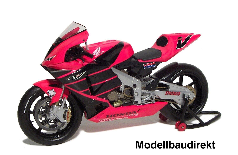 HONDA RC 211 V Testbike d'été 2001 V Rossi 1 12 Minichamps 122017946 NOUVEAU & NEUF dans sa boîte