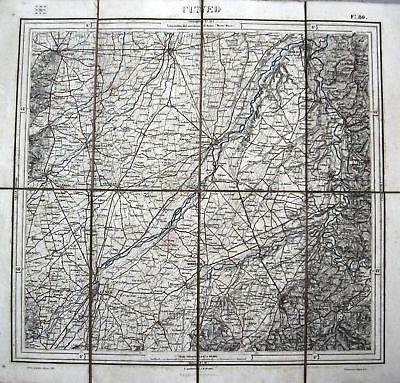 Cartina Igm Piemonte.Piemonte Cuneo Mondovi Cherasco Carta I G M Secolo Xix Ebay