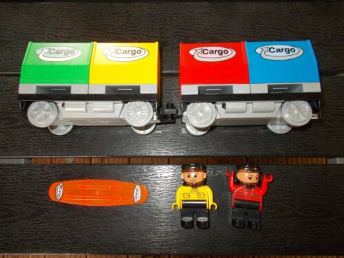 macchinista LEGO ® Duplo Ferroviaria intelli codice PIETRA 2-Cargo Carrello U