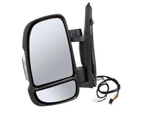 Miroir à Gauche Pour CITROEN JUMPER 06-électrique Miroir Extérieur Capteur de température G