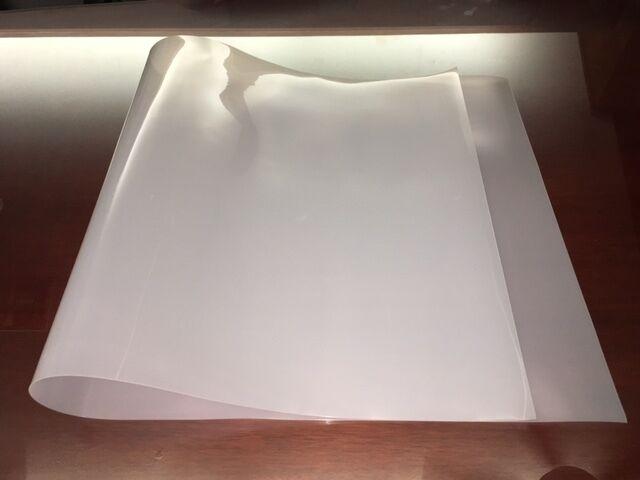 1 Flexible 48 X 24 X1/30 0 03 Translucent PE Plastic Sheet DIY Stencil  Pattern
