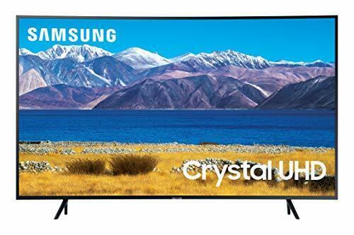 SAMSUNG 65-inch Class Curved UHD TU-8300 Series - 4K UHD HDR Smart TV With Al...