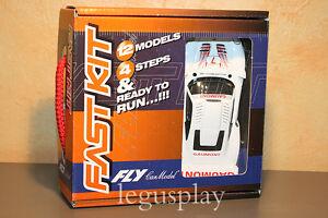 Slot-car-SCX-Scalextric-Fly-88236-Porsche-911-GT1-Evo-Silverstone-BGTC-1999