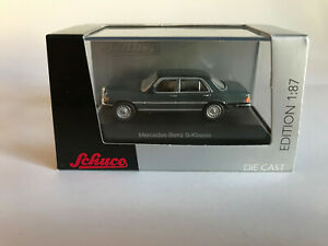 Mercedes-Benz-S-CLASS-Gray-Art-No-452609600-Schuco-H0-1-87