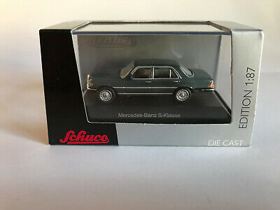 Sporting Mercedes-benz S-class 452609600 Schuco H0 1:87 High Quality Goods Gray / Art No