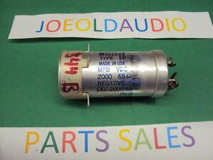 HH-Scott-344B-Original-Filter-Capacitor-Parting-Out-344B-Receiver-Read-Below