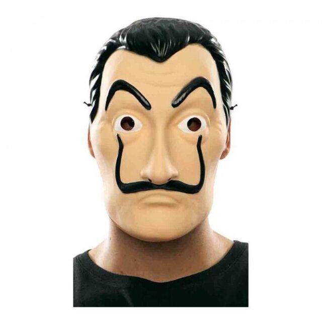 Salvador Dali Face Mask Maschera La Casa Di Carta Cosplay Mask Adult Party Mask