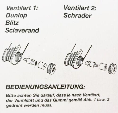 Handluftpumpe pour toutes les valves vélo Pompe à air 45124 Vélo Pompe 35 cm
