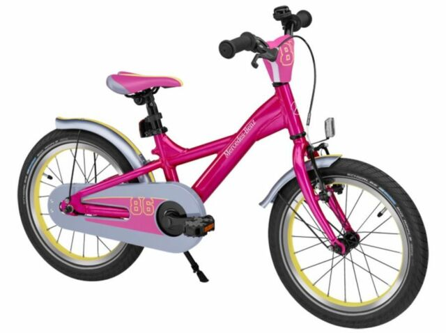 Ori Mercedes Benz Children Bicycle Kids Bike Rad Girl Pink 16 Inch
