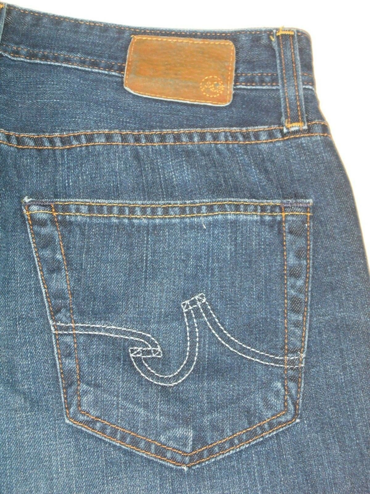 AG ADRIANO goldSCHMIED Mens Hero Jeans Sz 30 X 29 Relaxed 100% Cotton