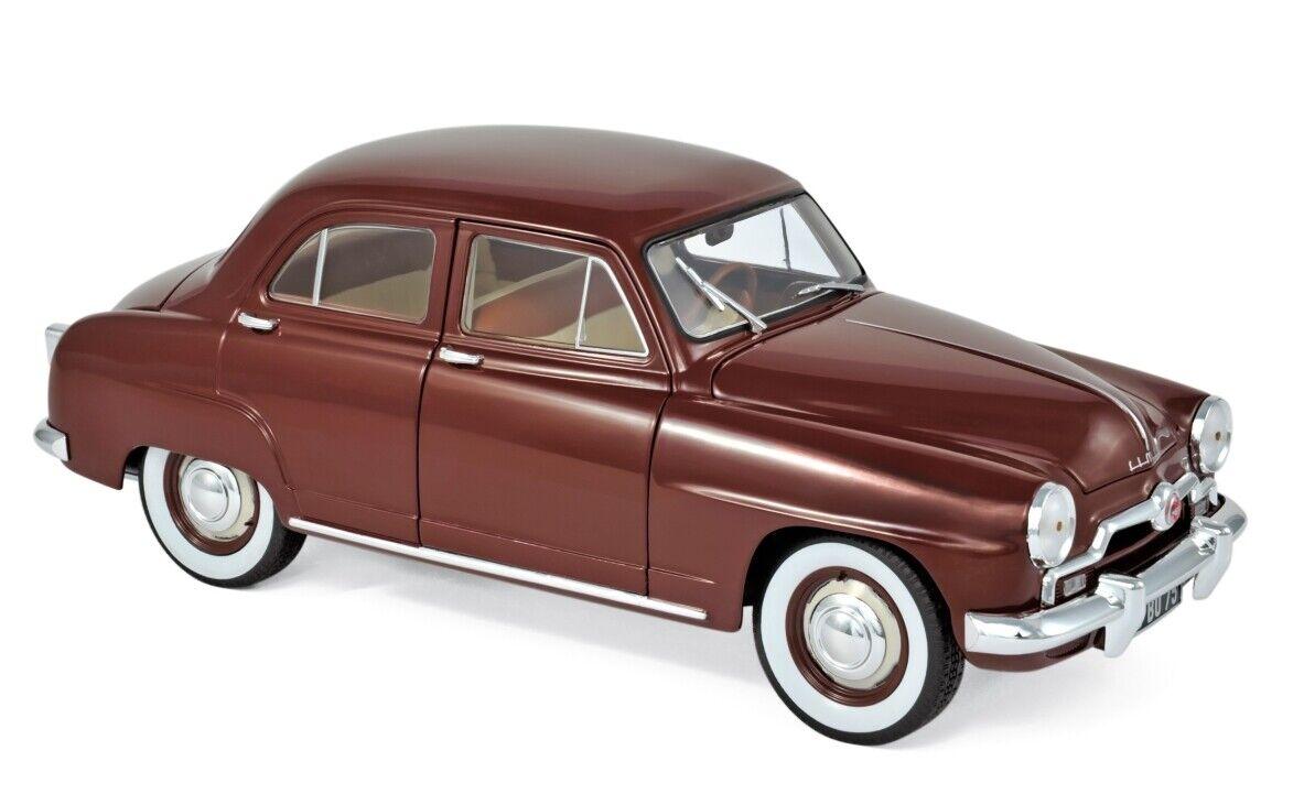 Norev Simca 9 Aronde 1953 1 18 amarante rojo