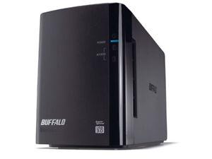 Buffalo-DRIVESTATION-DUO-HD-WLU3R1-USB-3-0-2-Bays-inkl-Netzteil-Kabel