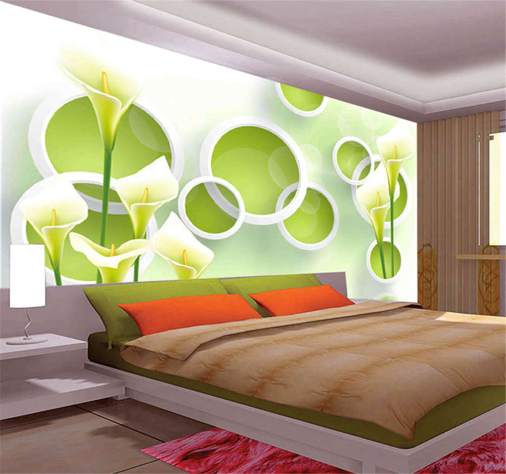 Various Pulpy Circle 3D Full Wall Mural Photo Wallpaper Printing Home Kids Decor