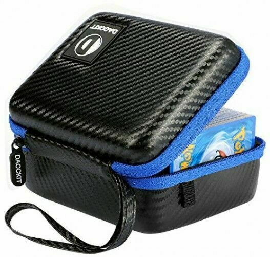 Fits Up 400 Includes 2 Removable Hard Case Compatible Pokemon Trading Cards