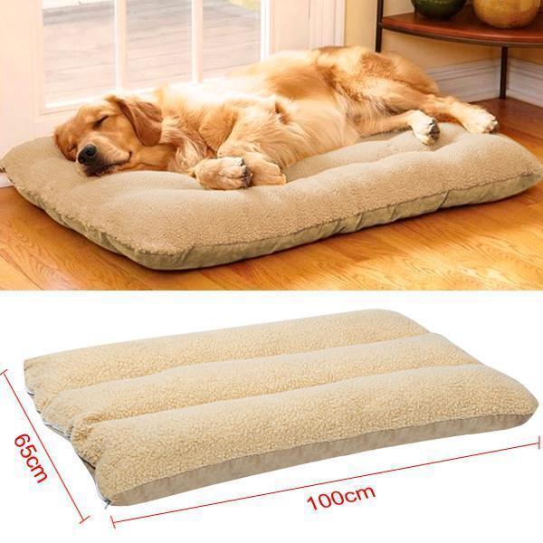 XL Large Dog Cat Mat Warm Soft Puppy Pets Bed Mattress Cushion Pillow Winter