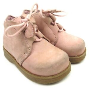 JACADI PARIS Pink Chukka Boots Sz 20 US