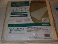 Rug Pad Surface Source 5' X 8' Nip Carpet Pad
