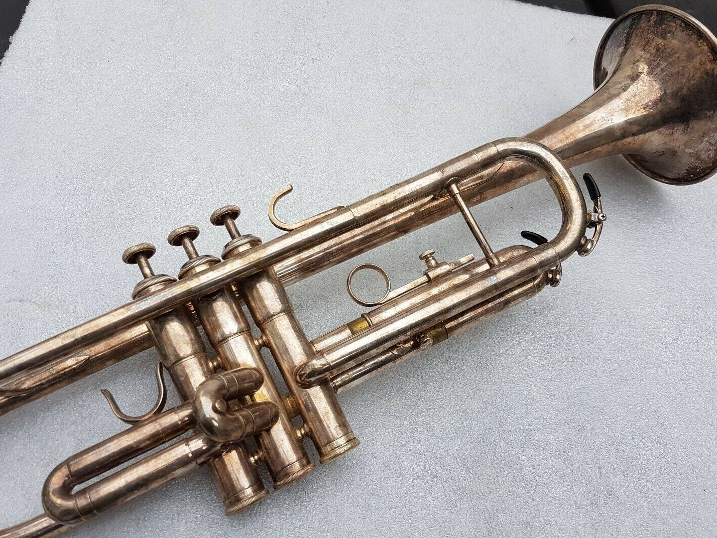 BESSON 709 by KANSTUL TROMPETE / TRUMPET - made in USA