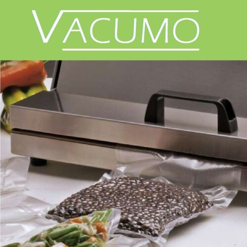 200 Vakuumbeutel 12 x 45 cm VACUMO S-VAC Vakuumfolie Vakuumierbeutel goffriert