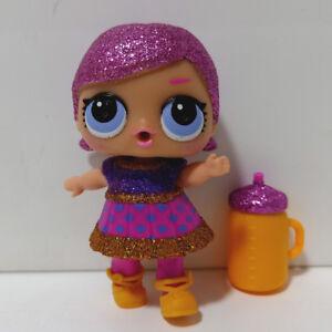 lol doll Big Sister Glitter Purple Hair DIY Hot Red Dress Kids Birthday Gift