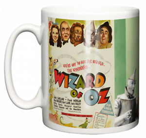 """Judy Garland Mug """"Classic Hollywood Movie Poster The Wizard of Oz"""" Coffee Gift"""